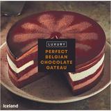 Iceland Luxury Perfect Belgian Chocolate Gateau 796g