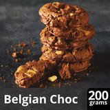 Iceland Luxury Quadruple Belgian Chocolate Cookies 200g