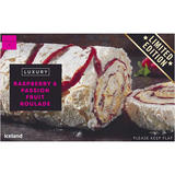Iceland Luxury Raspberry & Passion Fruit Roulade 420g