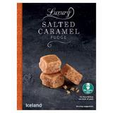 Iceland Luxury Salted Caramel Fudge 150g