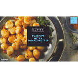 Iceland Luxury Scallops with a Tomato Butter 210g