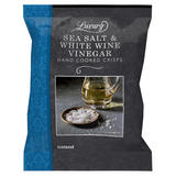 Iceland Luxury Sea Salt & White Wine Vinegar Hand Cooked Crisps 180g