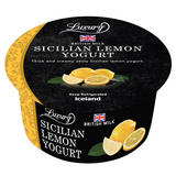 Iceland Luxury Sicilian Lemon Yogurt 150g