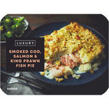 Iceland Luxury Smoked Cod, Salmon & King Prawn Fish Pie 450g
