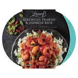Iceland Luxury Szechuan Prawns & Jasmine Rice 450g