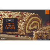 Iceland Luxury Toffee & Pecan Roulade 420g