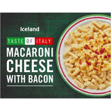 Iceland Macaroni Cheese with Bacon 400g