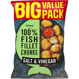 Iceland Made with 100% Fish Fillet Chunks Salt & Vinegar 700g