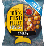 Iceland Made with 100% Fish Fillet Popsters Crispy 450g