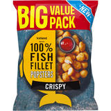 Iceland Made with 100% Fish Fillet Popsters Crispy 800g