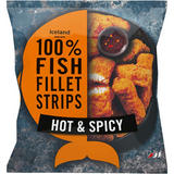 Iceland Made with 100% Fish Fillet Strips Hot & Spicy 450g