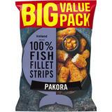 Iceland Made with 100% Fish Fillet Strips Pakora 800g