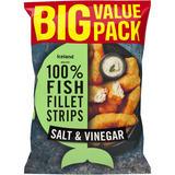Iceland Made with 100% Fish Fillet Strips Salt & Vinegar 800g
