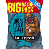 Iceland Made with 100% Fish Fillet Strips Salt and Pepper 800g