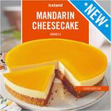 Iceland Mandarin Cheesecake 450g