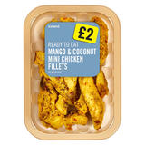Iceland Mango & Coconut Mini Chicken Fillets 180g
