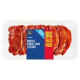Iceland Maple Pork Loin Steaks 700g