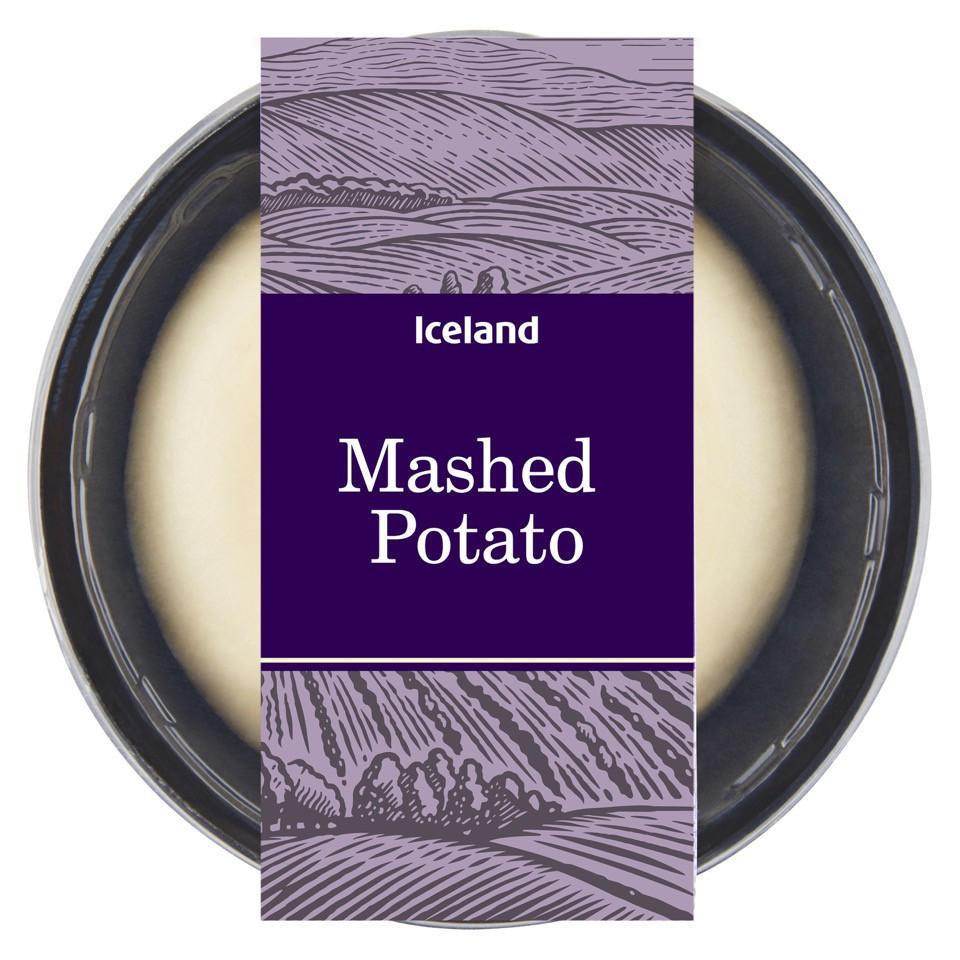 Iceland Mashed Potato 400g | Fresh Vegetables & Potatoes
