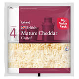 Iceland Mature Cheddar 450g