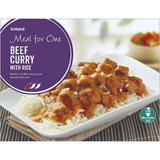 Iceland Meal for One Beef Curry with Rice 500g