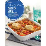 Iceland Meal for One Chicken Stew with Dumplings 500g
