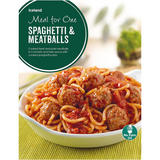 Iceland Meal For One Spaghetti And Meatballs 500g