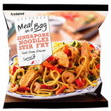 Iceland Meal in a Bag Singapore Noodles Stir Fry 750g
