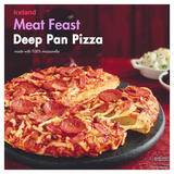 Iceland Meat Feast Deep Pan Pizza 358g