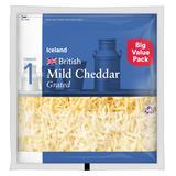 Iceland Mild Cheddar 450g