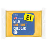 Iceland Mild Coloured Cheddar Cheese 180g