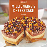 Iceland Millionaire's Cheesecake 450g