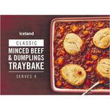 Iceland Minced Beef & Dumplings Traybake 1.2kg