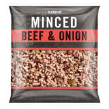 Iceland Minced Beef & Onion 650g