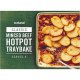 Iceland Minced Beef Hotpot Traybake 1.2kg