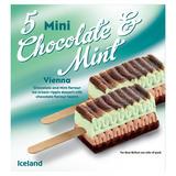 Iceland Mini Chocolate & Mint Vienna 175g