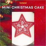 Iceland Mini Christmas Cake 150g