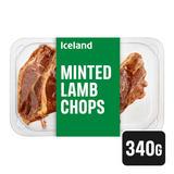 Iceland Minted Lamb Chops 340g
