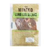 Iceland Minted Lamb Leg Steaks 300g