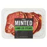 Iceland Minted Lamb Leg Steaks 500g