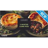 Iceland Luxury Minted Lamb Pies 440g