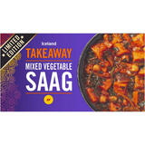 Iceland Mixed Vegetable Saag 375g