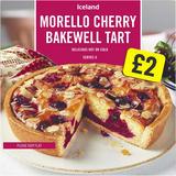 Iceland Morello Cherry Bakewell Tart 410g