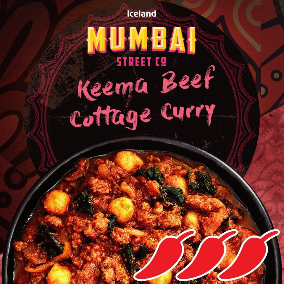 Iceland Mumbai Mince Beef Curry 250g Indian Iceland Foods