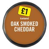 Iceland Oak Smoked Cheddar 100g