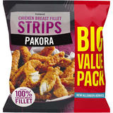 Iceland Pakora Chicken Breast Fillet Strips 1kg