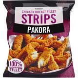 Iceland Pakora Chicken Breast Fillet Strips 600g