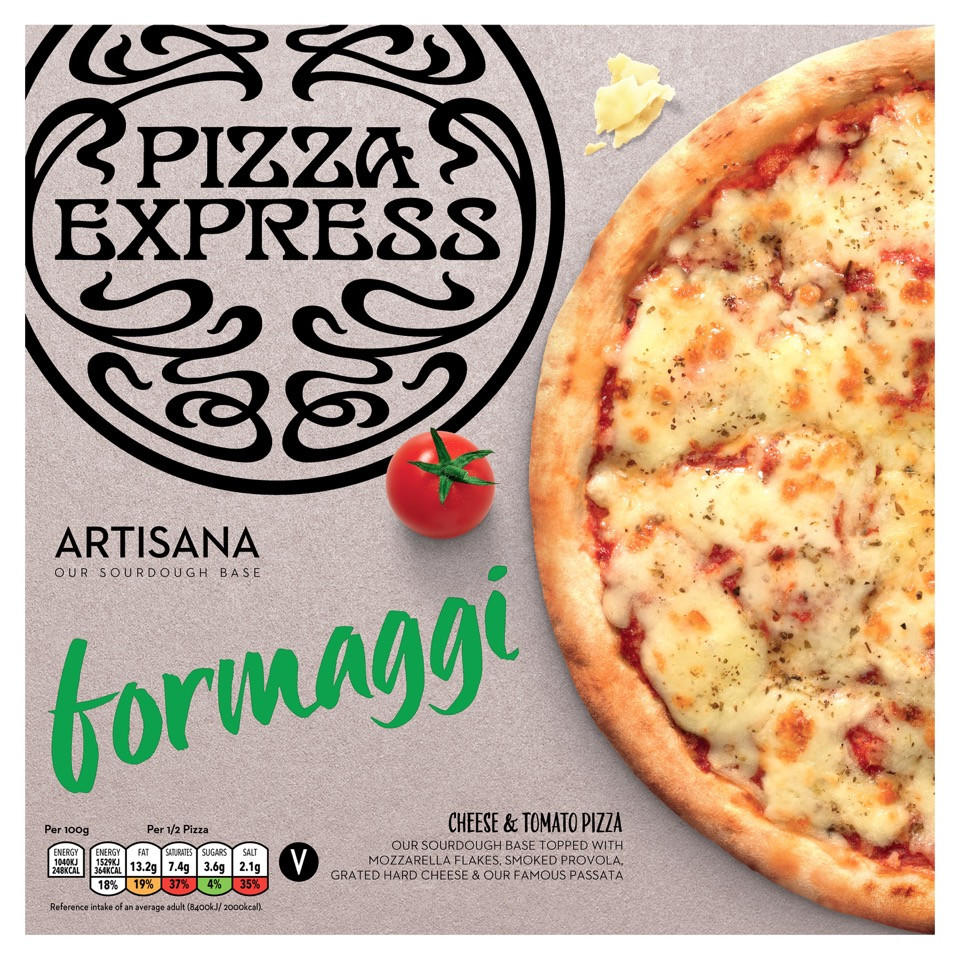 Iceland Pizzaexpress Formaggi Pizza 310g Iceland Foods