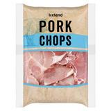 Iceland Pork Chops 800g