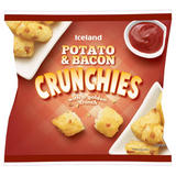 Iceland Potato & Bacon Crunchies with a Golden Crunch 550g