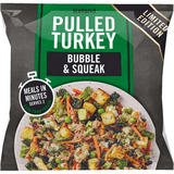 Iceland Pulled Turkey Bubble & Squeak 750g